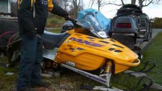Cold Start Ski-Doo MXZ 600