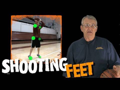 cac066a98c1a6 DON T SQUARE UP your FEET!! How to shoot a basketball -- Shot Science  Basketball - YouTube