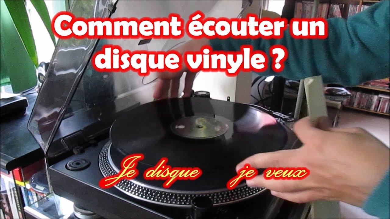 Quelle Marque De Platine Vinyle Choisir #6 comment écouter un disque vinyle - tutoriel - je disque je veux