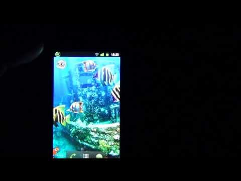 Аквариум-живые обои,Live Wallpapers for Android