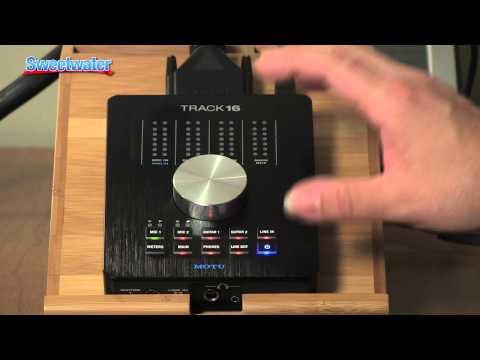 Sweetwater Minute - Vol. 158 MOTU Track 16 Desktop Audio Interface