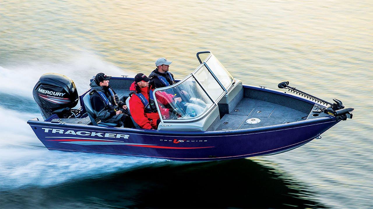 Tracker boats 2016 pro guide v 16 wt deep v aluminum for Tracker fishing boats