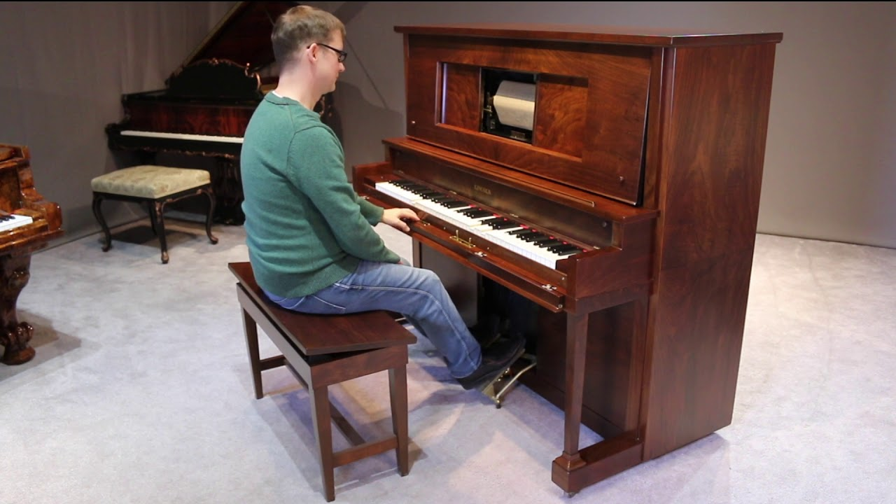 antique piano shop lincoln upright piano take me home country roads youtube. Black Bedroom Furniture Sets. Home Design Ideas