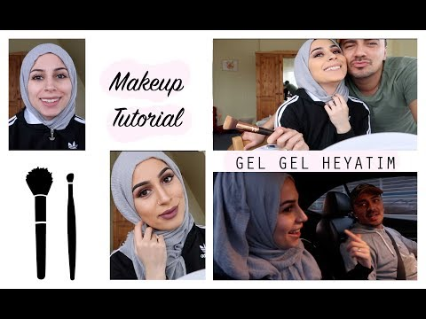 GEL GEL HEYATIM :) │ Get ready with me (FOR MARRAKESCH EVENT)│ MAKE UP TUTORIAL