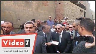 وزير الصناعة يتابع عمليات هدم المدابغ سور مجرى العيون