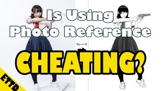 Is Using Reference Cheating? - Easy Things to Draw