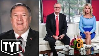Mike Pompeo Refuses To Deny Trump's FAILURE