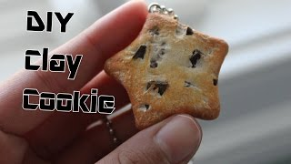 DIY Star Cookie Necklace; Paper Clay Tutorial