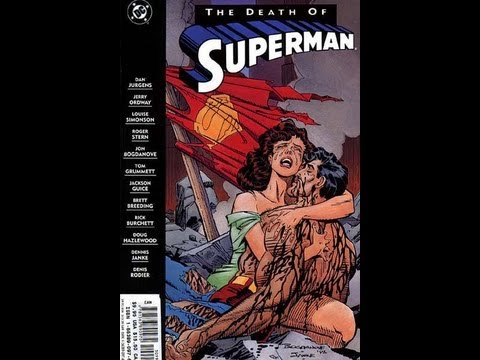 The Comic Vault: The Death of Superman Review/Retrospective