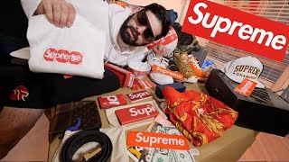 MY ENTIRE SUPREME COLLECTION PART 2! (IT GOT BIGGER)