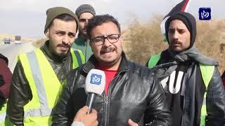 """اتفاق ينهي مشكلة اعتصام """"متعطلي العقبة"""" - (21-2-2019)"""