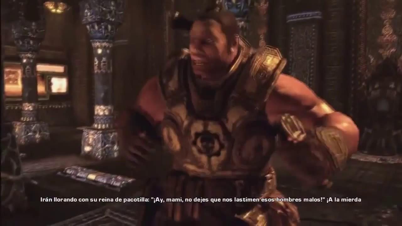 El Conmovedor Discurso De Cole Gears Of War 2 Hd