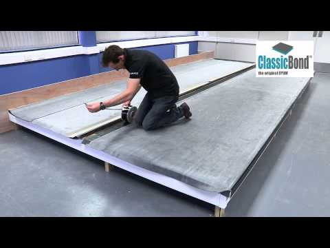 Installing ClassicBond ® EPDM To A Roof With A Seam