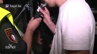 SLUČAJEVI X OBJAVLJUJU: PIJAN VOZIO U SUPROTNOM SMJERU PA 'NALETIO' NA POLICIJU