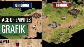Age of Empires Definitive Edition - Remake vs. Original - Graphics comparison / Grafikvergleich