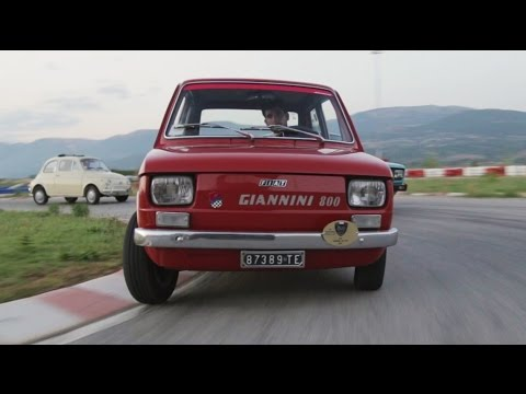 Giannini 126 GPA 800 cc (On Track) - Davide Cironi Drive Experience