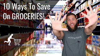 10 Ways To Save Money On Groceries | Frugal Living Saving Money Tips