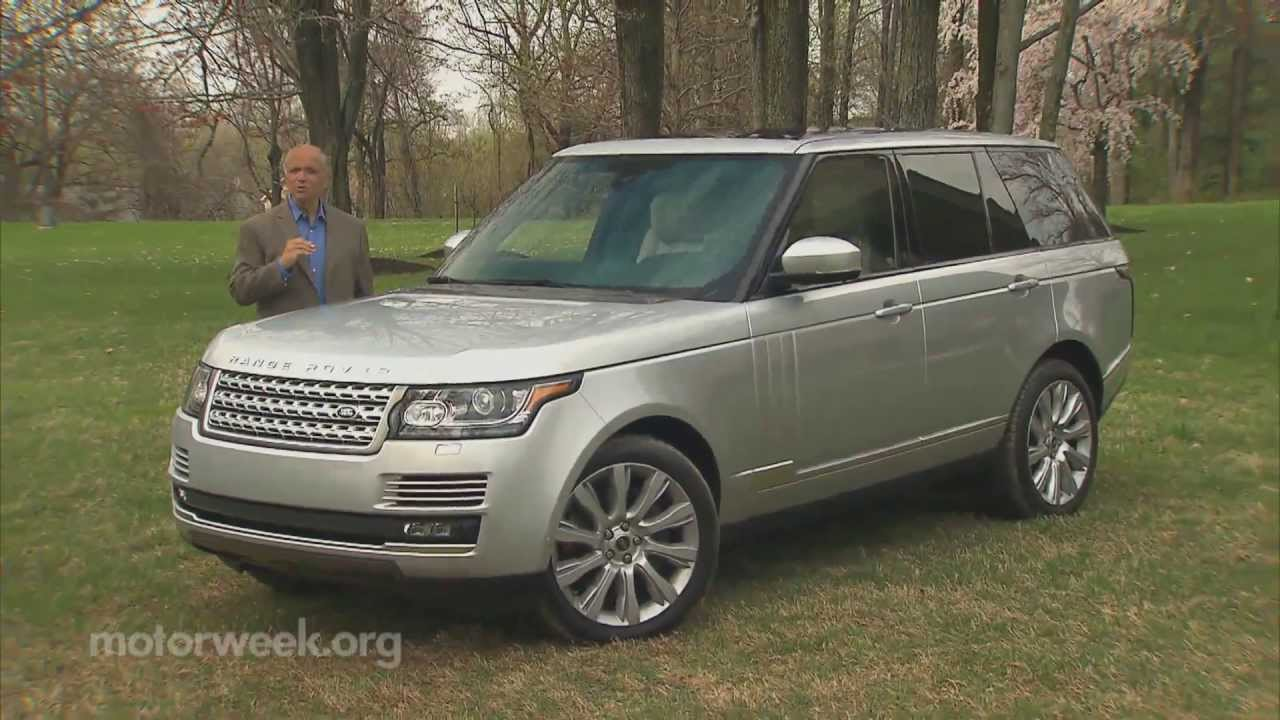 road test 2013 land rover range rover youtube. Black Bedroom Furniture Sets. Home Design Ideas