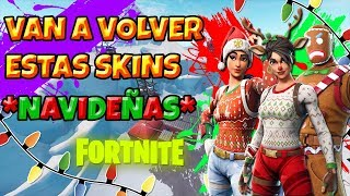 VOUS ALLEZ-vous RETURN THE SKINS NAVIDES TO Fortnite? (red noser raider)2018