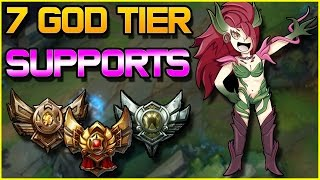 7 God Tier SUPPORTS for Low ELO ft. SincerelyLyn | League of Legends