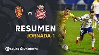 Resumen de Real Zaragoza vs Girona FC (2-2)