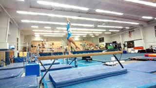 A Buteau L10 Beam - preseason mock meet, Oct. 2020