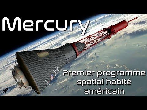 MERCURY - UN PROGRAMME SPATIAL LÉGENDAIRE