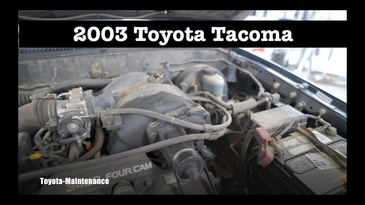 2003 Toyota Tacoma with TRD Supercharger