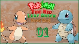 Pokemon Fire Red and Leaf Green Soul Link Episode 01 - Pairs? What pairs?