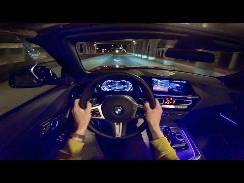 new!-bmw-z4-m40i-pov-night-drive-w/-ambient-lighting-by-autotopnl