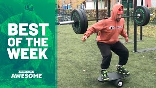 Barbell Balancing on a Rola Bola & More | Best of the Week Video