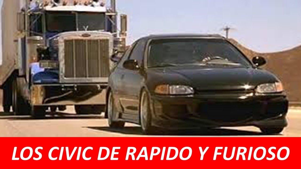 Que p3d0 con el HONDA CIVIC de Rapido y Furioso