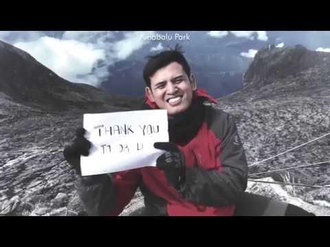 DOCUMENTARY INCREDIBLE JOURNEY HIKING MOUNT KINABALU SABAH