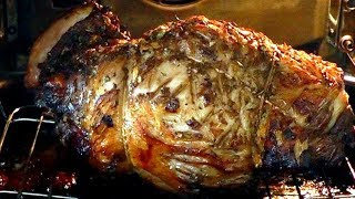 CHRISTMAS ROAST LAMB How to cook Pomegranate Marinated simple delicious recipe