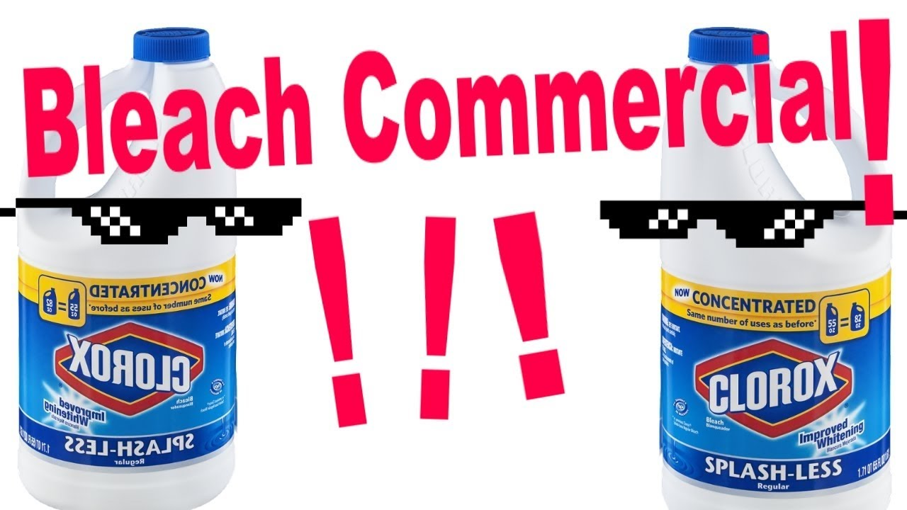 Un-Official Clorox Bleach Commercial - YouTube