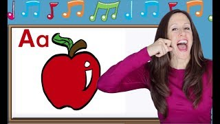 Phonics Song für Kinder | Alphabet Song | Letter Sounds | Unterschrift für Babys | ASL | Patty Shukla