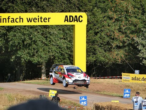 WRC - ADAC Rallye Deutschland 2018 Arena Panzerplatte Jump Gina