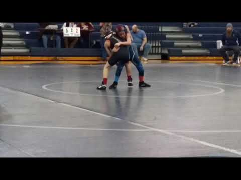 Cole s last wrestling match of season. At Kernodle Middle School. Go Cole Cole