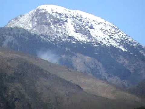 V Is For Volcano el volcan de tajumulco...