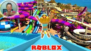 ROBLOX 🏊 Fun pool party! 🏊 WATER PARK WATER PARK SiMULATOR 🏊 Turkish Roleplay 🏊