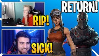 Streamers React To *OG* BATTLE PASS SKINS COMING BACK To Fortnite (RIP)