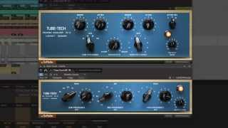 Tube-Tech PE 1C and ME 1B passive tube equalizers by Softube