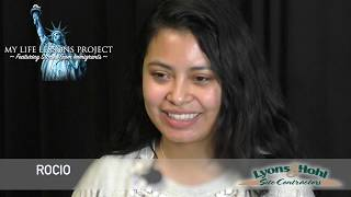 My Life Lessons Project Featuring Stories From Immigrants Meet Rocio
