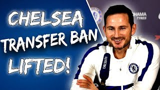 BREAKING Chelsea39s Transfer Ban Appeal Successful What Does This Mean For Lampard