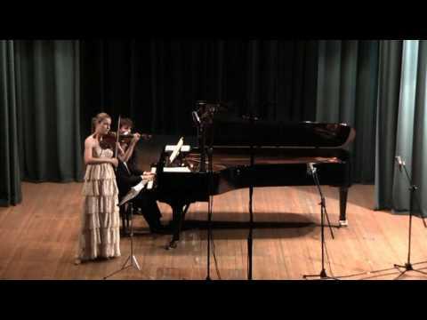 SCHUMANN  Violin Sonata a-minor,op.105   Höpcker / Bidini - 1/3