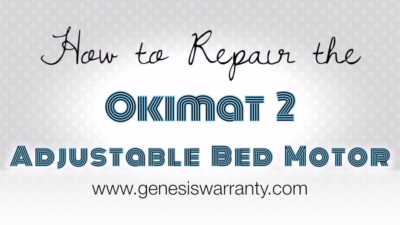 How To Repair An Okimat 2 Adjustable Bed Motor Leggett