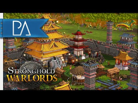 NEW STRONGHOLD GAME! HOLDING AGAINST WAVE ATTACK! - Stronghold Warlords (alpha) |