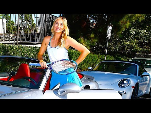 Maria Sharapova Hot Porsche 911 Driver Interview Sexy Commercial 2014 Carjam TV HD Car TV Show
