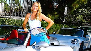 Maria Sharapova Hot Porsche 911 Driver Sexy Commercial 2014 Carjam TV HD Car TV Show