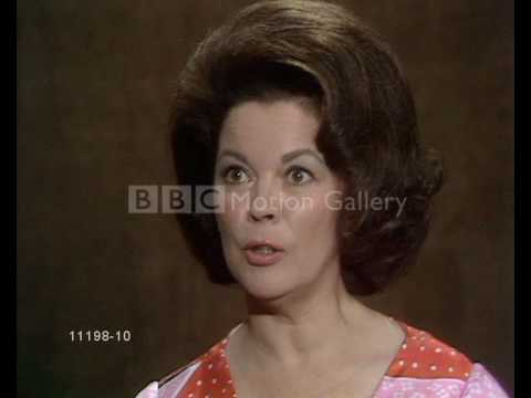 Shirley Temple (Black) interview clip  july 1972